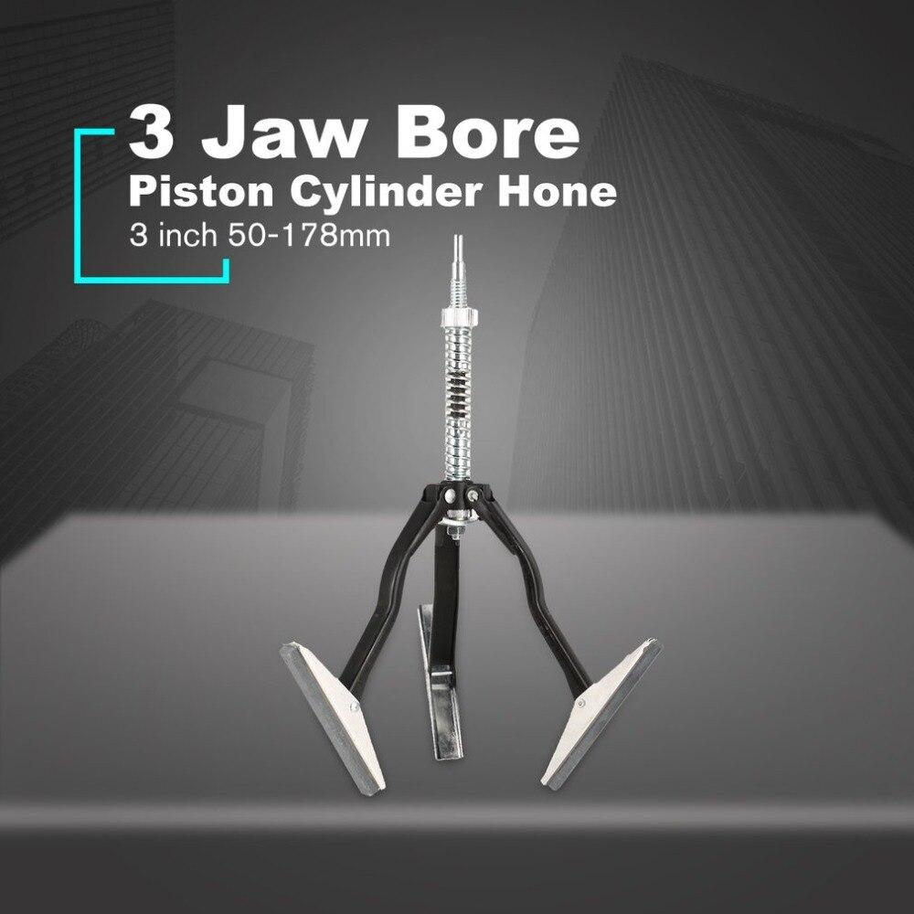 3 Legs Adjustable Brake Cylinder Hone Piston With 3 Grinding Stones Tool Range:19mm-64mm Modern Design Engines & Components