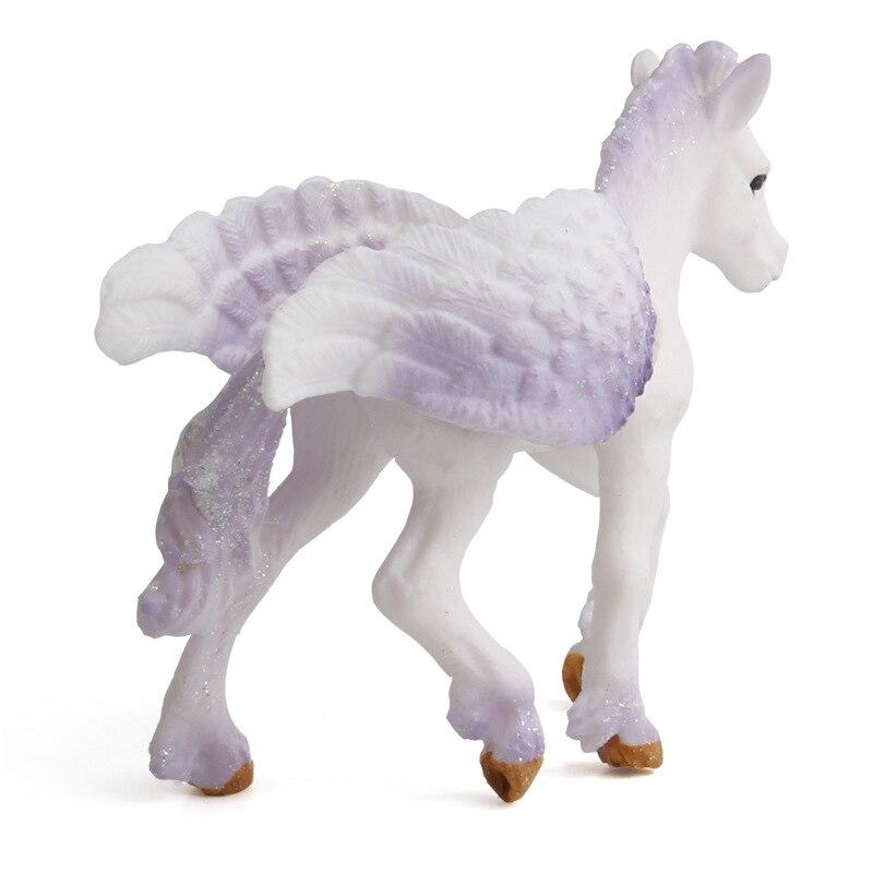 New Cute Horse Action Figures Friendship Is Magic Princess Luna Celestia Rainbow Dash Unicorn Flying Horse Figure Model Toys