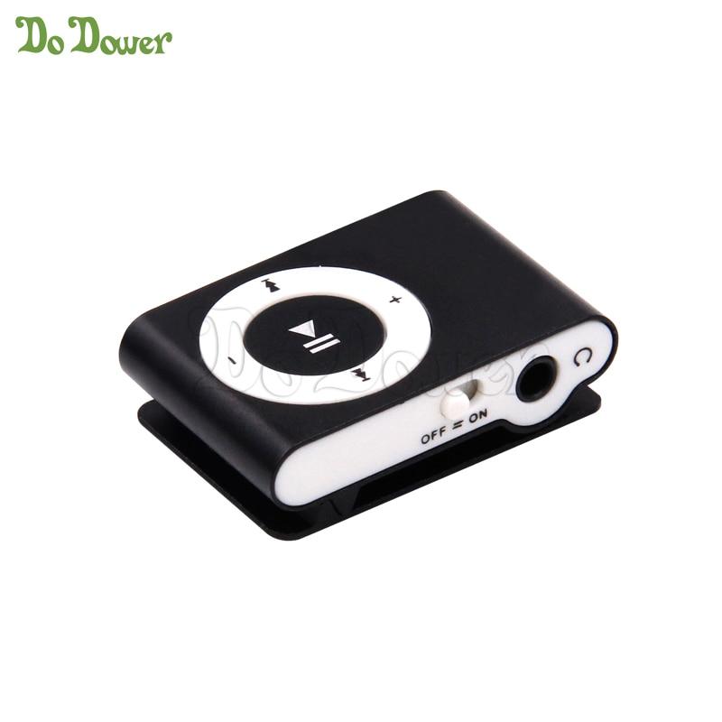 1pc Mini Clip MP3 Player Mirror MP3 player waterproof sport MP3 music player walkman
