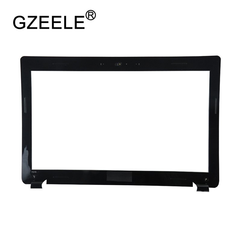 Gzeele New For Lenovo Y570 Lcd Front Bezel Cover Ap0hb000200 31049898 Lcd Screen Display Lcd Front Bezel Cover Demand Exceeding Supply Computer & Office Laptop Accessories