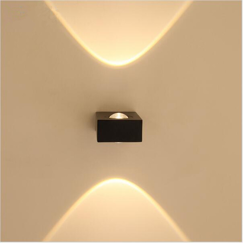 Different Ways In Which You Can Use Led Lights In Your Home: Up And Down Side Lighting 6W LED Wall Lamp Modern Compact