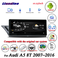 Liandlee For Audi A5 8T Android Original System Radio Carplay 4G SIM GPS Navi Navigation HD Screen Multimedia No CD DVD Player
