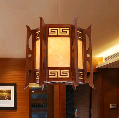 Tradition Chinese style coffee carved wood art Pendant Lights Vintage classical palace lamp for bar&corridor&porch&stairs MYR005 tradition chinese style carved wood art pendant lights retro countryside house lamp for bar