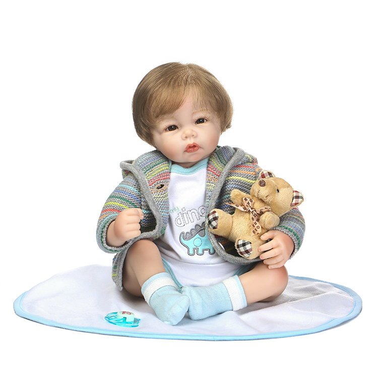NPKCOLLECTION new design reborn babydoll In cute Sweater clothes soft touch toys and Christmas gift for children
