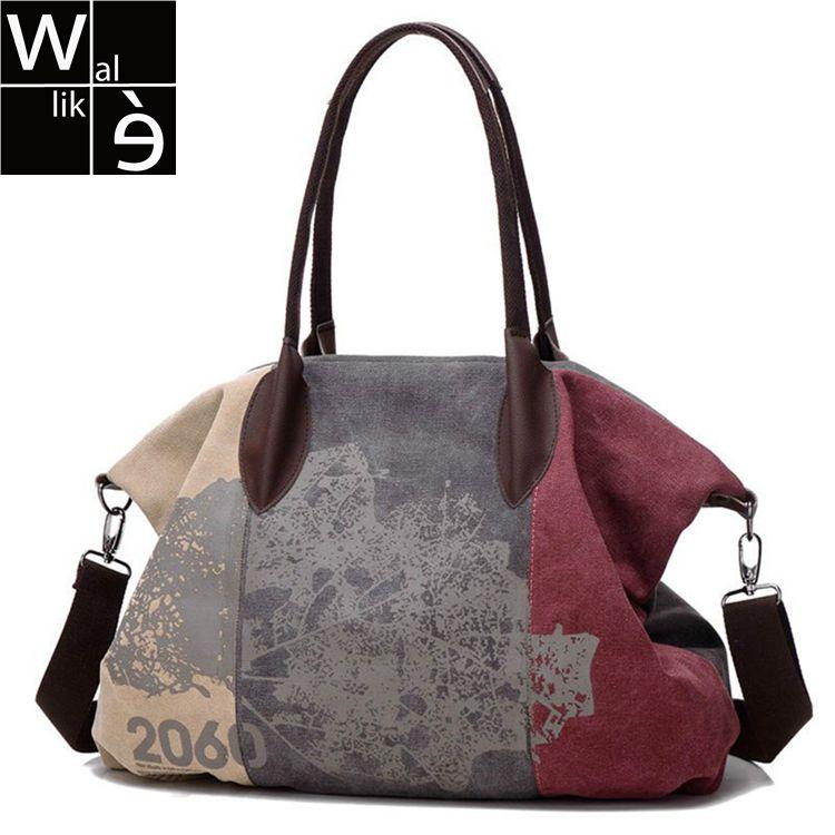Canvas Bag Handbag Brands Large Hobo Bag Tote Messenger Bags Vintage Canvas Bag