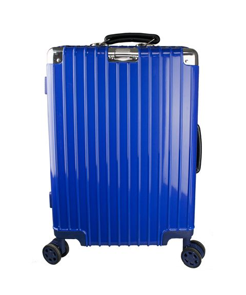 [Available from 10.11] Men's business class suitcase PROFFI TRAVEL PH8868 S blue durable, lightweight with TSA combination lock