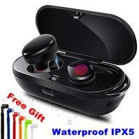 E XY Wireless Bluetooth Earphones True Wireless Stereo Earbud Waterproof Bluetooth Headset Headphon for Phone HD Communication