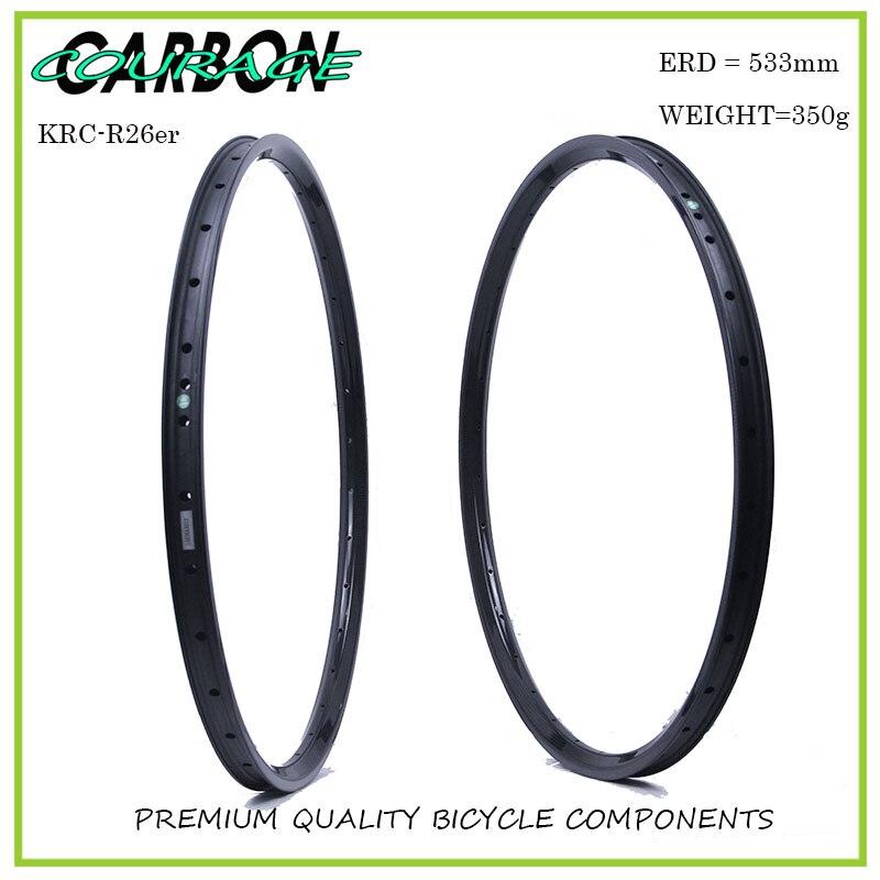 26 mtb carbon rim 26er moutain bicycle carbon rims 26 rim mtb