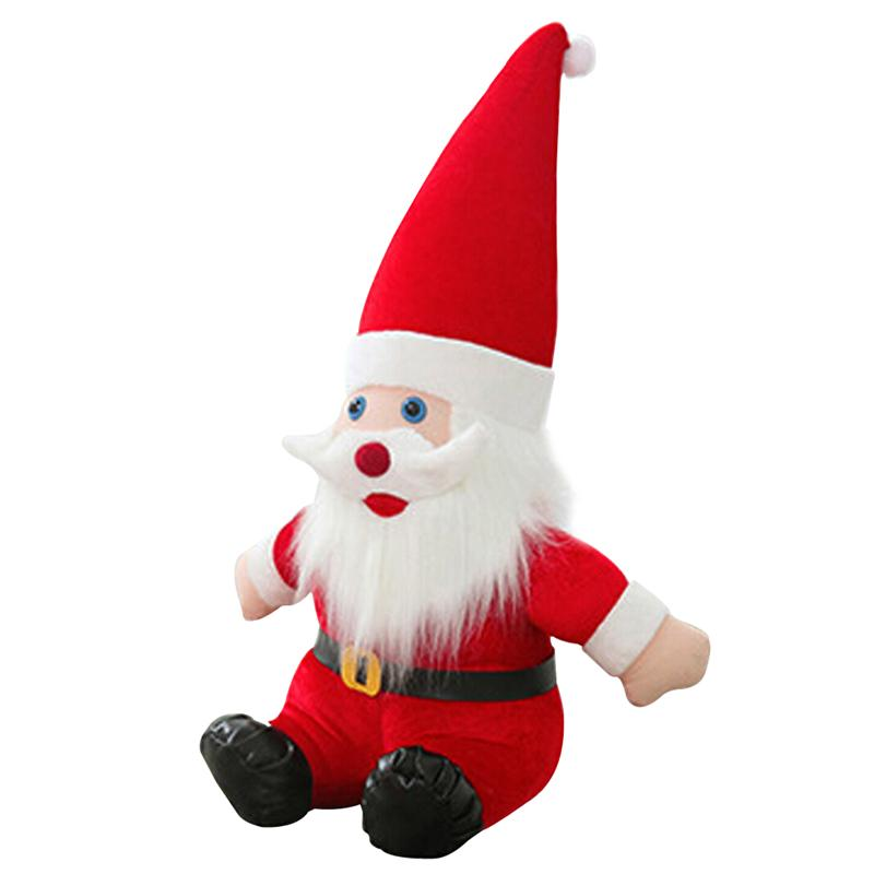 Animated Christmas Santa Claus Novelty Plush Doll Toy Gift for Christmas Kids Children 23.6 Inch