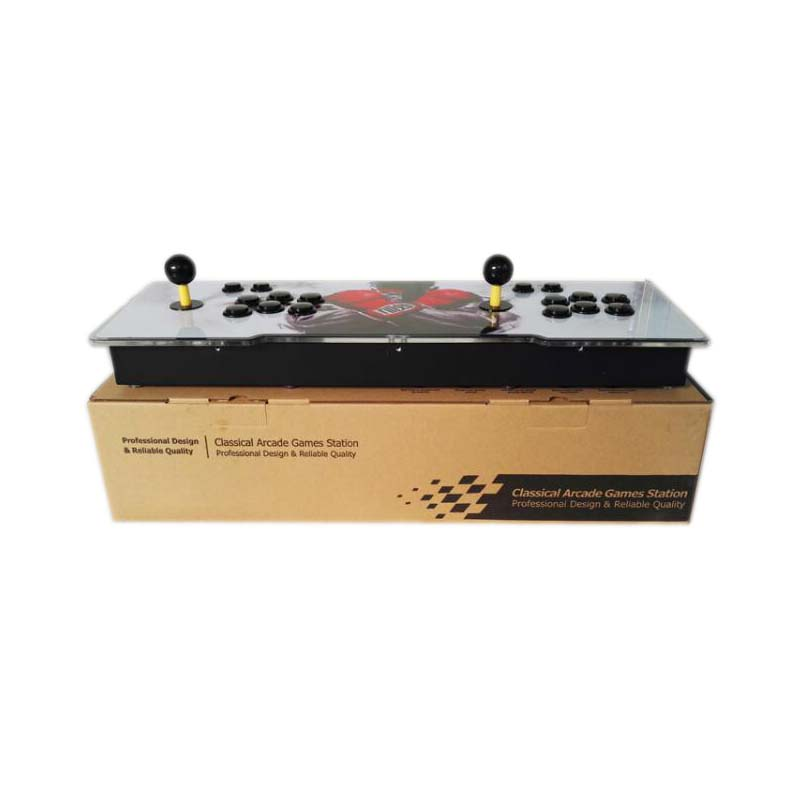 Купить с кэшбэком TV jamma box 6s  1388 in 1 video game console 2 players fighting rocker HDMI VGA USB output with pause
