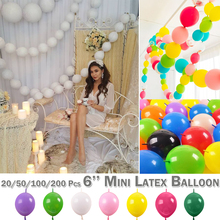 Mini Latex Balloon  Cute Tail Round Celebration Wedding Birthday Party Decoration Balloons Festival D20