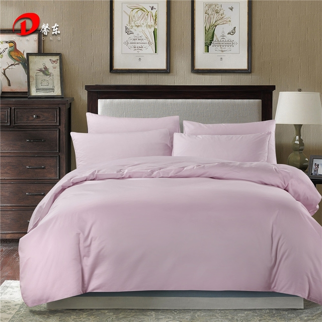 Purple Satin Bedding Set Luxury Egyptian Cotton Bed King Queen Size High Quality Linen 4pcs Le Duvet Cover Z46