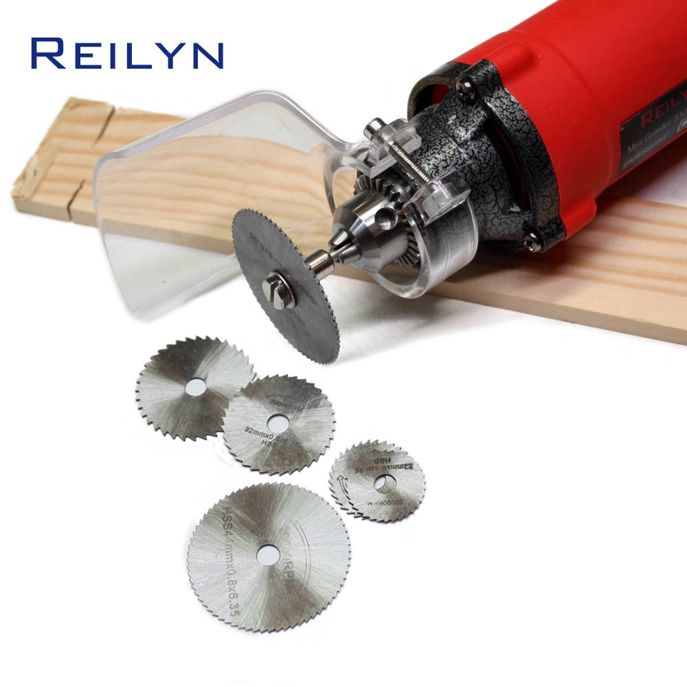Free Shipping HSS Saw Blade 6 Pc/7 Pc Mini Blade 22mm-50mm For Dremel/electric Grinder Saw Bit Cutting Wood/plastic