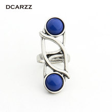 Star Wars The Last Jedi Leia Princess Ring Cosplay Classic Ring for Women Movie Jewelry with Gift Box Drop Shipping