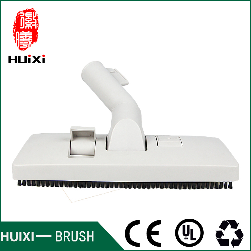 32mm Universal white vacuum cleaner floor brush and suction nozzle with high efficiency for RO430 RO1274 RO1251 etc 32mm universal vacuum cleaner horsehair floor brush with wheels and high efficiency of vacuum accessories for ro1217 ro1132 etc