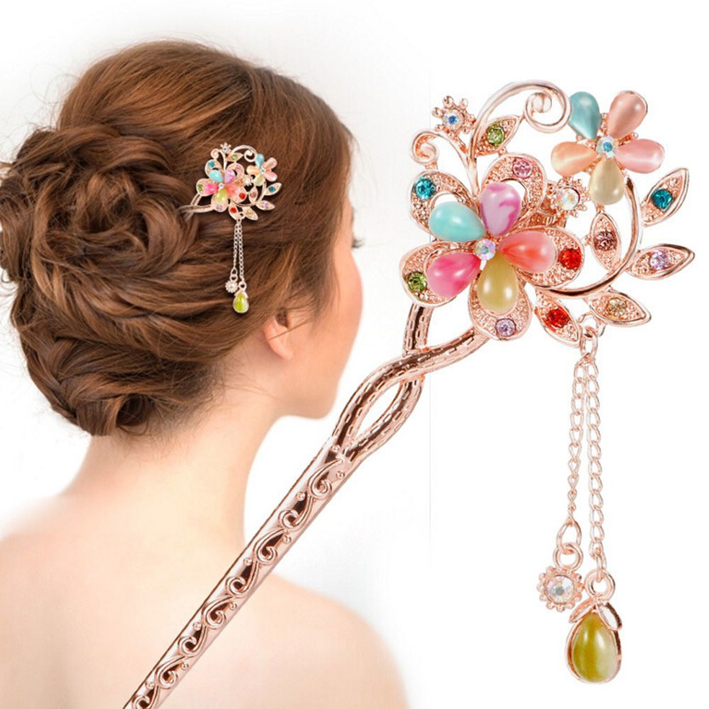 Retro Vintage Bridal Wedding Party Gifts Hairpins Elegant
