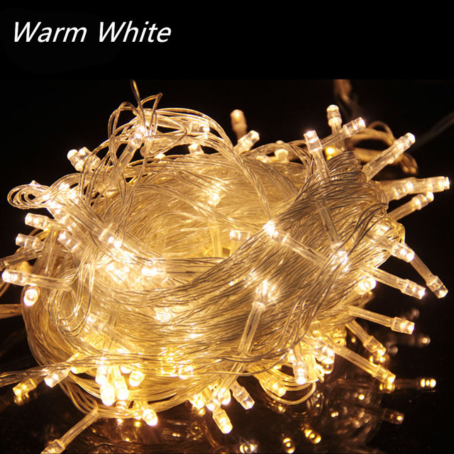 10M 20M 30M 50M 100M LED Garland String Light Christmas Fairy Lights Outdoor for Christmas Tree Wedding Party Decoration navidad