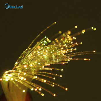Wholesale 250m/roll 2.5mm Diameter PMMA LED Fiber Optic Cable End Glow For Decoration Lighting фото