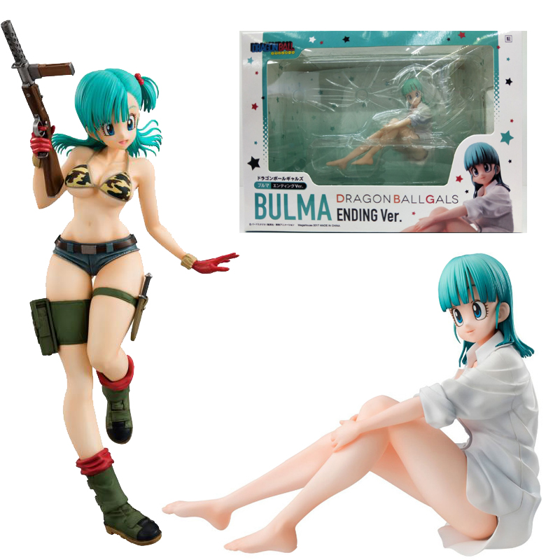 Pajamas Leopard Bulma <font><b>Girl</b></font> <font><b>Sexy</b></font> Dragon Ball Japanese Anime Figures Action Toy Figure Pvc Model Collection Best Gift image