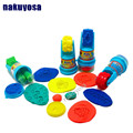 4 styles Non - toxic safety Lovely clay mold tool set 3 year old children hand - colored clay kindergarten DIY round Roller toys