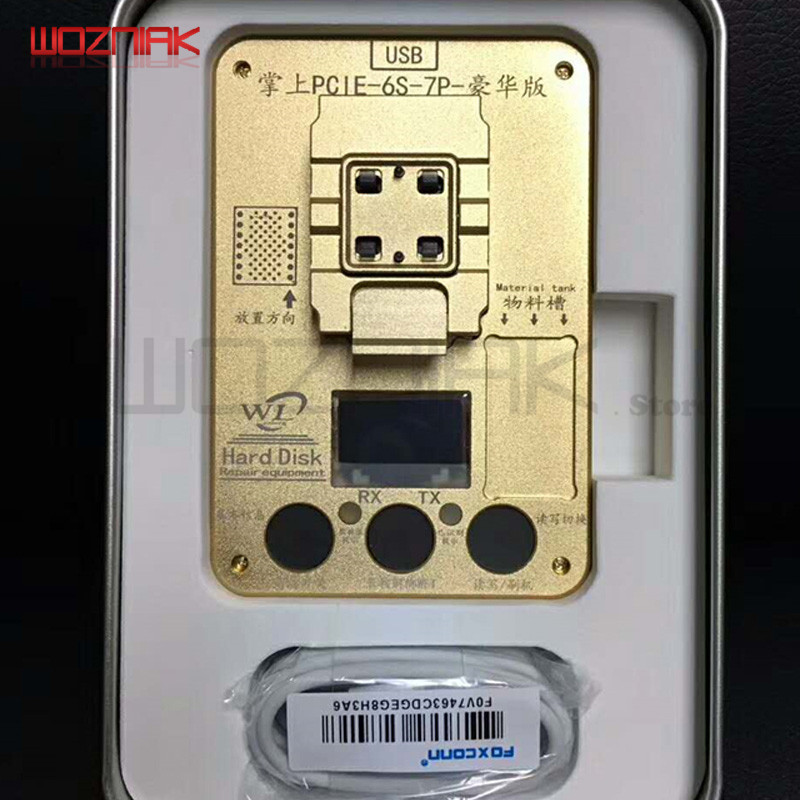 Wozniak WL PCIE NAND Programmer per iPhone x 8g 8p 7P 7 6SP ios11 HDD - Set di attrezzi - Fotografia 3