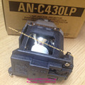 Original AN-C430LP nova lâmpada de projetor com habitação para SHARP XG-C330X XG-C335X XG-C350X PG-C355W