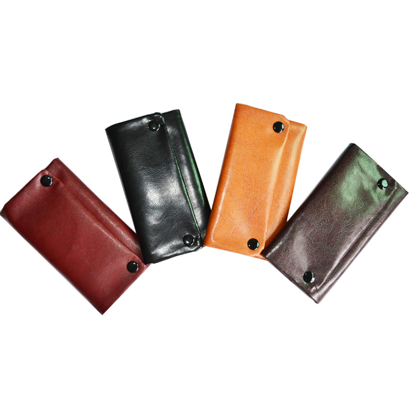 Black Tobacco pouch Wallet Case quality tabacco