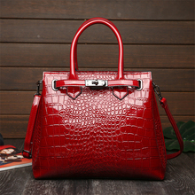 Fashion Crocodile Pattern Women Handbags Luxury Women Bags Designer Big Tote Bag Brand Leather Shoulder Crossbody Bags for Women цена в Москве и Питере