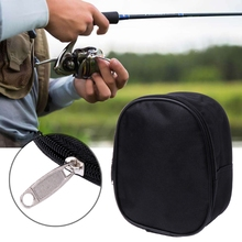 2017 Reel Bag Portable Fishing Reel Mini Bag Pocket Fishing Tackle Pouch Case Outdoor Sports