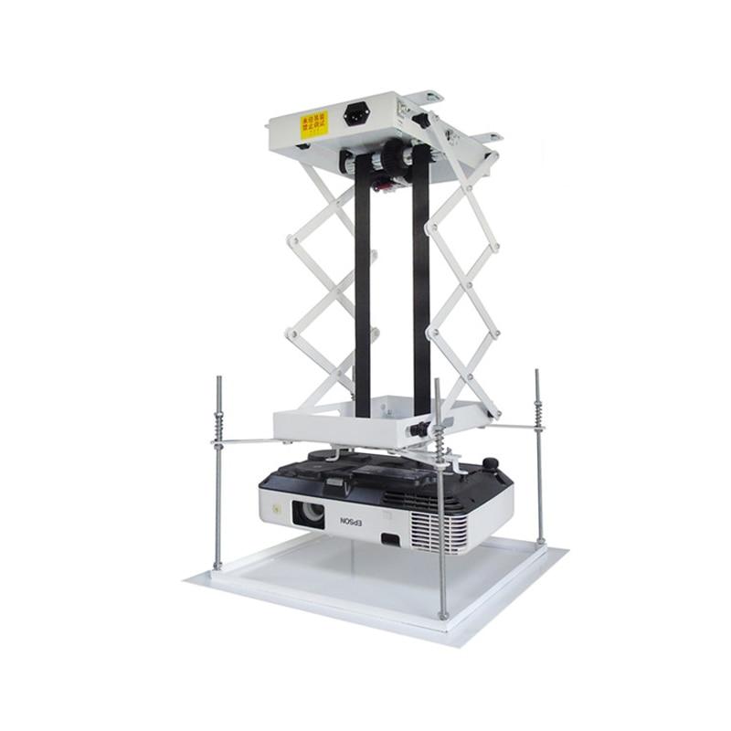 70CM support de projecteur motorisé électrique ascenseur ciseaux projecteur plafond montage projecteur ascenseur avec télécommande sans fil 110 v/220 v - 2