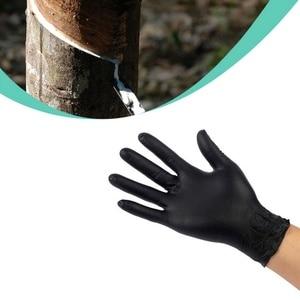 Image 3 - 20Pcs/Set New Rubber Disposable Mechanic Nitrile Gloves Universal Powder Free Comfortable Black Glove for Auto Detail Car Clean
