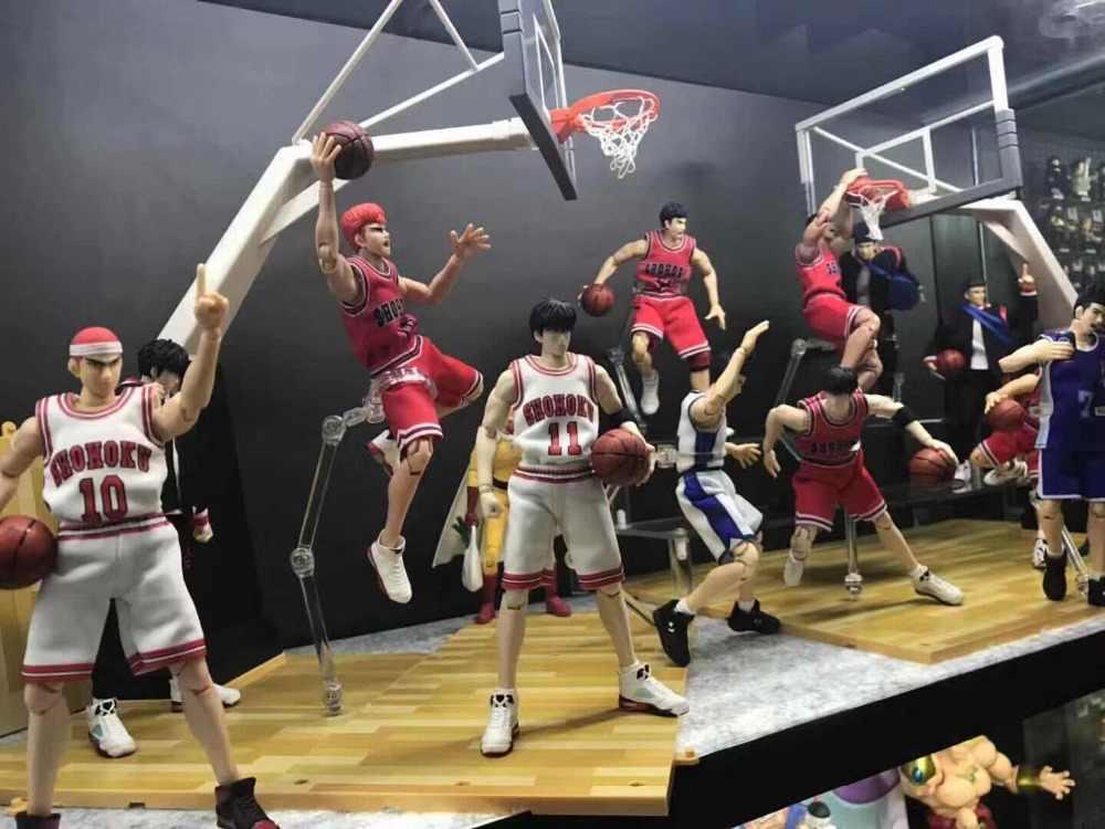 """COMIC CLUB dasin SLAM DUNK Miyagi Ryota """"Akagi"""" Takenori Hanamichi Sakuragi Rukawa Kaede Mitsui Hisashi figura de acción de juguete"""