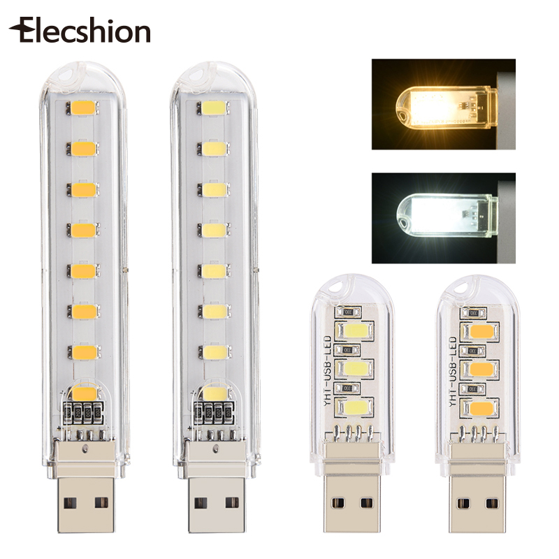 mini USB lamp 5730SMD 3 LEDs Book lights  LED Bulbs Tubes  Camping Bulb usb led Night light For PC Laptops for Notebook Reading three dimensional 3d visual reading lights wood acrylic clear small lamp button type led stereo night light folding book lights