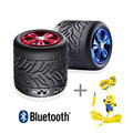 High quality Portable Subwoofer wireless bluetooth speakers Tire mini card Car acoustics Hands-free calling speakers+ headphones