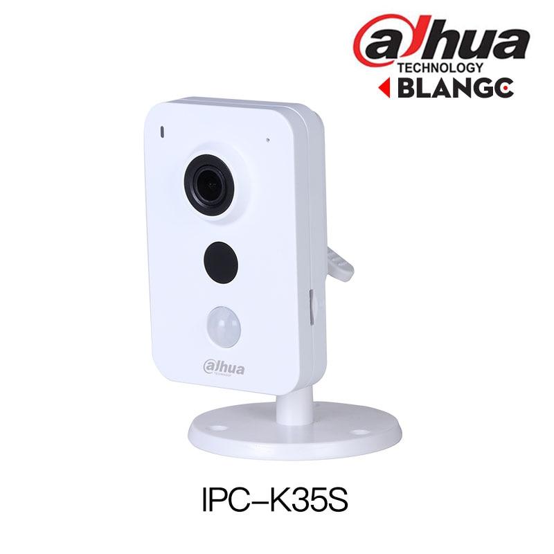 DaHua Telecamera ip Wireless IPC-K35S 3MP Dual Band Wi-Fi Network Camera costruito in microfono e altoparlante mini PIR sostituire DS-2CD2442FWD-IW