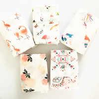 70% bambou + 30% coton bébé Swaddle enveloppes coton bébé mousseline couvertures nouveau-né 100% bambou mousseline couette