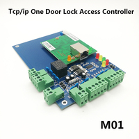 TCP/IP RFID Single Door Access Control System One Door Access Panel LAN Interface Gate Access Controller M01
