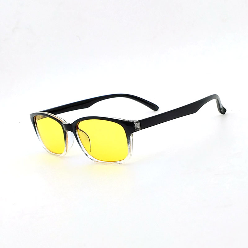 3a12bb9815e Computer Glasses Men Spectacle Frame Transparent Anti Blue Ray Eyeglass for  Women Armacao de Oculos Yellow Lens-in Eyewear Frames from Apparel  Accessories ...