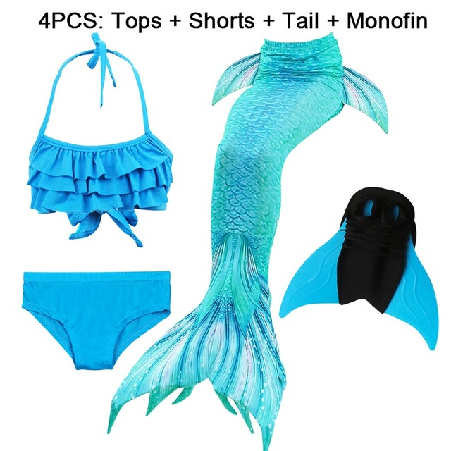 14-Colors-Girls-Swimming-Mermaid-Tail-with-Monofin-Bathing-Suit-Children-Ariel-the-Little-Mermaid-Tail.jpg_640x640 (25)