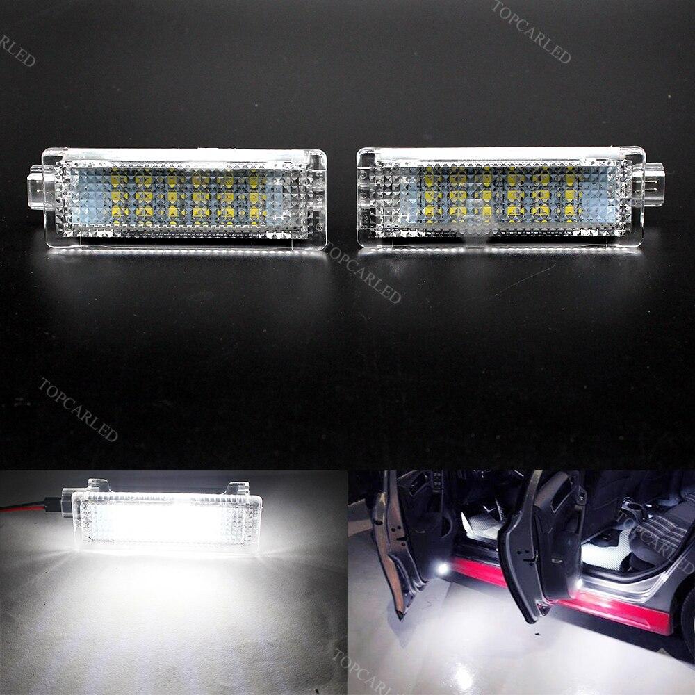 Super Bright Car LED Error Free LED Courtesy Lamp Glove Box Under Door Foot Light for BMW