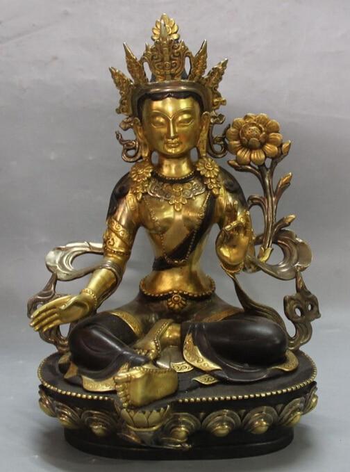 shitou 002663 12 China Purple Bronze 24K Gold Pure Silver Seat Lotus Green Tara Buddha Statueshitou 002663 12 China Purple Bronze 24K Gold Pure Silver Seat Lotus Green Tara Buddha Statue