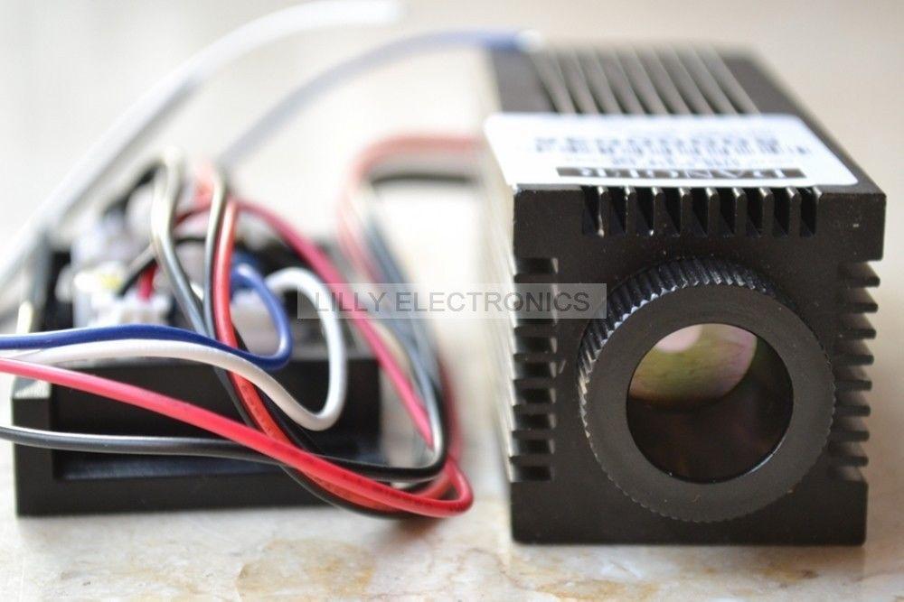Module de Diode Laser infrarouge focalisable 0.8 W 808nmModule de Diode Laser infrarouge focalisable 0.8 W 808nm