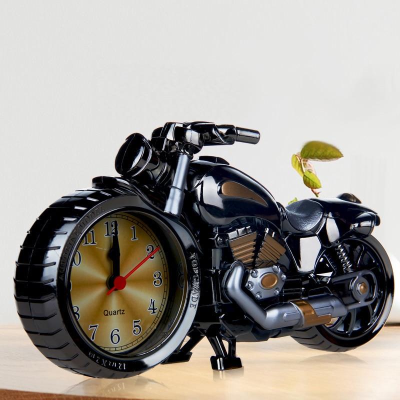 Alarm Clock Antique Motorcycle Guitar Birthday Gift Furniture Fashion 111