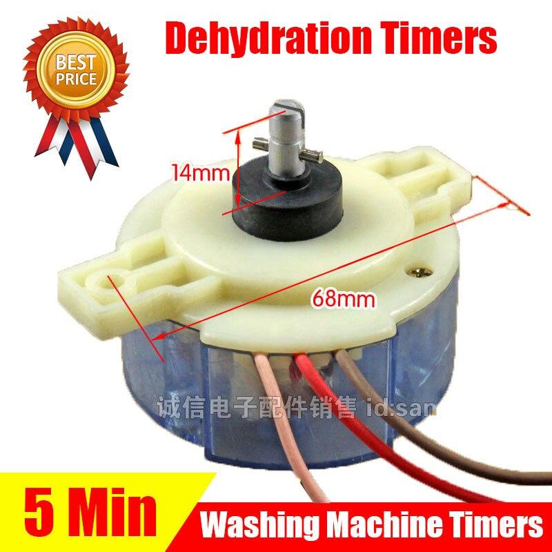 2 stücke Spin-Dry Timer Waschmaschine Neue Trocknungsanlage Ersatzteile Original Zubehör für Waschmaschine DSQTS-1701