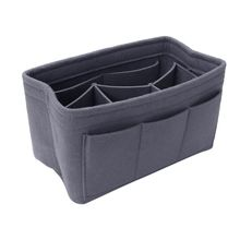 Felt Makeup Bag Organizer Insert Bag Handbag Multi-functional Travel Cosmetic Case Girl Toiletry Storage Bags