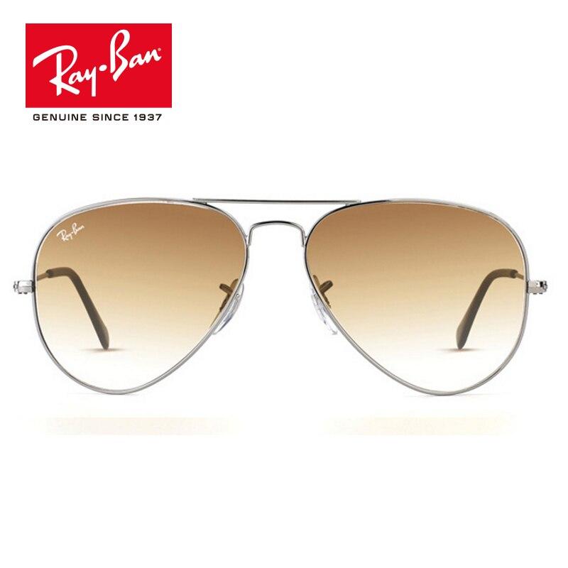 Rayban оригинальный классический пилот УФ-защита солнцезащитные очки Для мужчин Для женщин Брендовая Дизайнерская обувь солнцезащитные очки ...