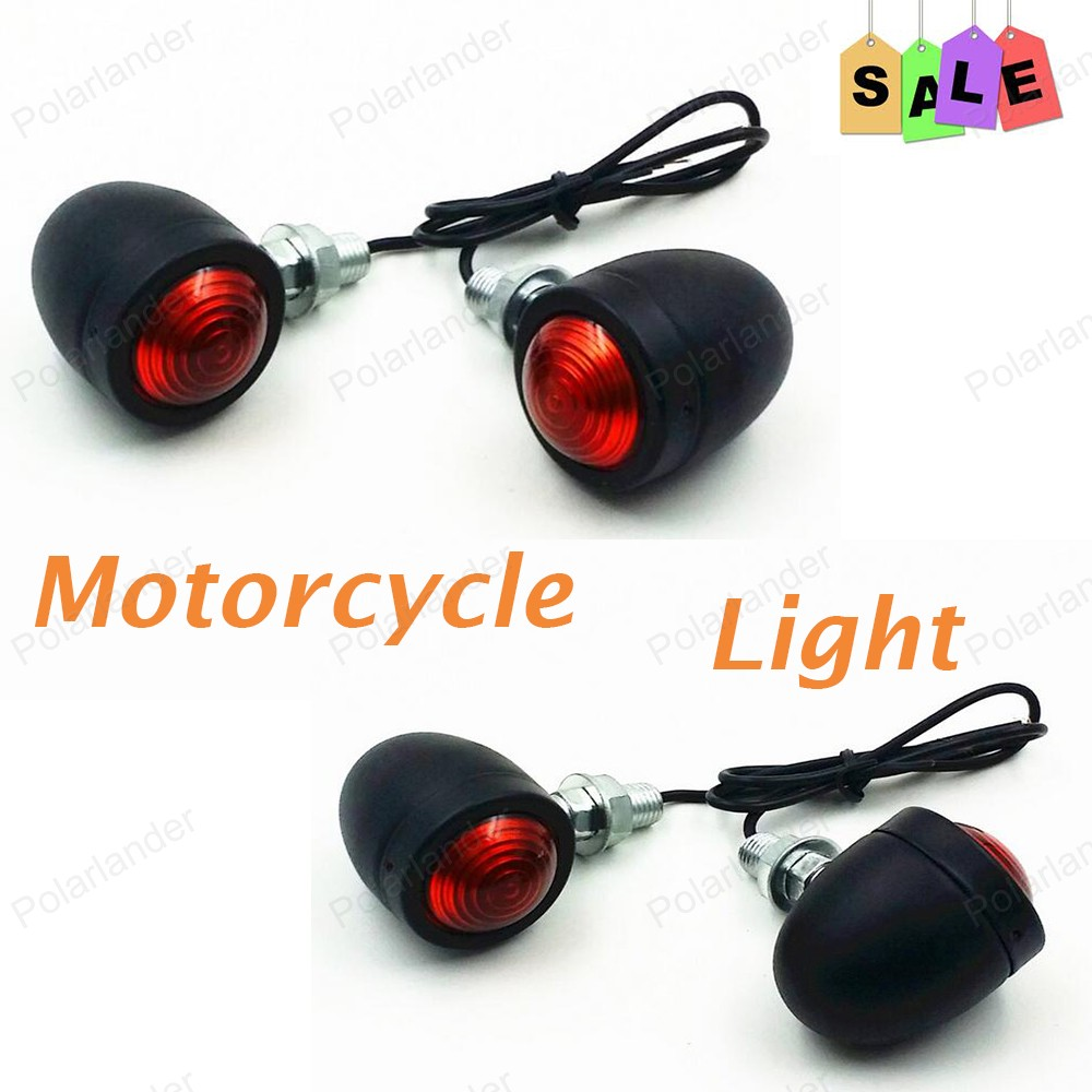 <font><b>2106</b></font> new 2 pcs/pair Motorcycle Turn Signals Light For H/arley H/onda Su/zuki Ya/maha Ka/wasaki LED Lights free shipping image