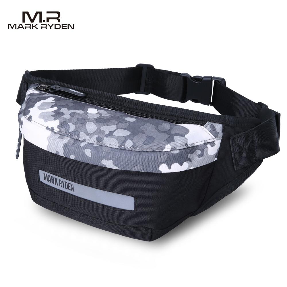Men Waist Pack Multi functional waist bag Fashion leisure canvas bag Inclined shoulder bag