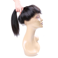 Queen Like Brazilian Straight Hair 130 Density Human Hair Non Remy Natural Hairline With Baby Hair