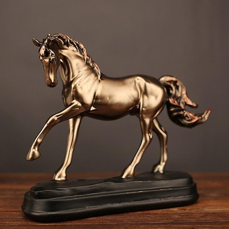 Large Unicorn Figurine Figure Home Decoration Ornament Statue Collectable Gift